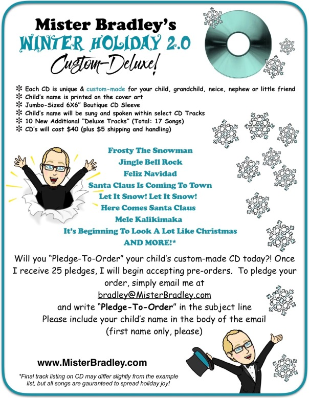 Mister Bradley (corrected) Winter Holiday Deluxe!
